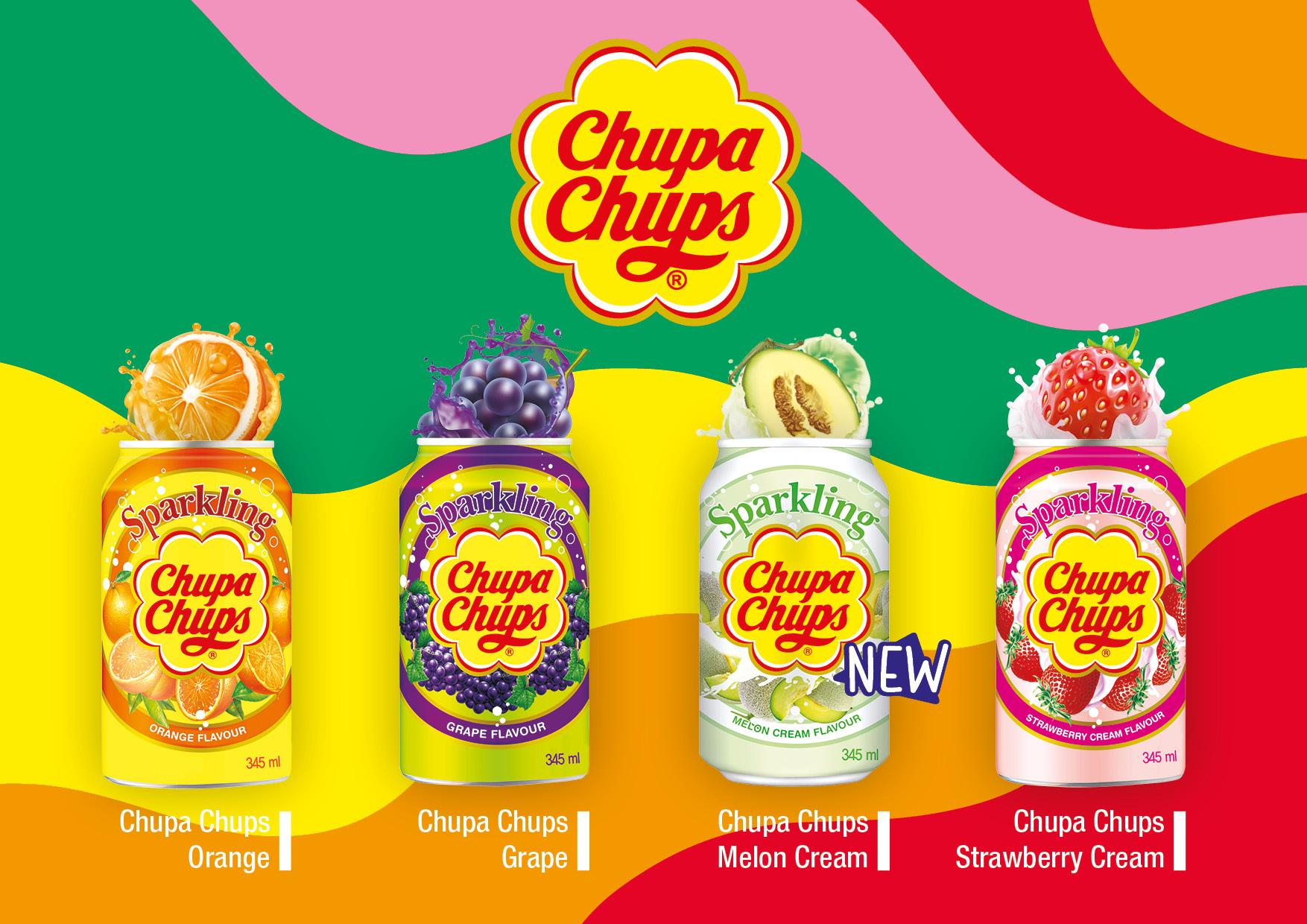 Chupa Chups Sparkling Drinks