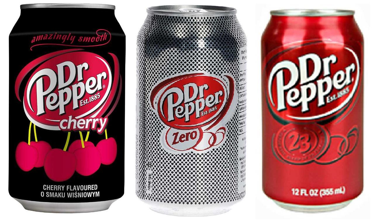 Dr Pepper Classi, Cherry, Zero